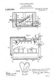 Josephine Cochrane Dishwasher Patent Drawing