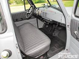 100 1951 Chevy Truck Old Local Floorboard Interior Autostrach