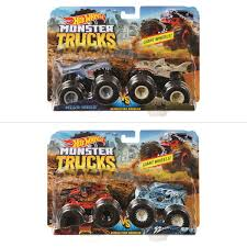 100 Demolition Truck Hot Wheels Monster 2 Pack Assorted BIG W