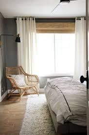 beeindruckende schlafzimmer fenster vorhang ideen