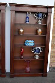 Open Bookcase by Classic Regency Sheraton Inlay Open Bookcases Book Case Ebay