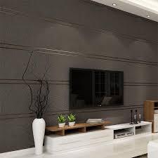 großhandel moderne einfache wildleder marmor streifen tapete für wände rolle papel de parede 3d vlies desktop tapeten wohnzimmer schlafzimmer
