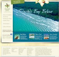 Orchid Bay Travel Website Design