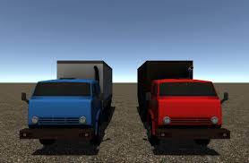 3D Asset Industrial Small Truck Pack - IV | CGTrader