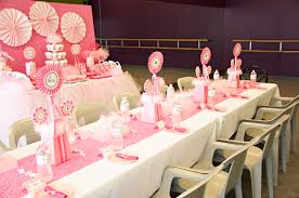 Tulle Pom Pom Decorations by Pink Ballerina Birthday Party Pizzazzerie