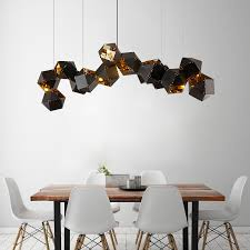 postmodernen kunst designer wohnzimmer restaurant nordic pendelleuchte esszimmer multi seitige kugel industrielle len