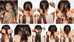 Simple Hair Style Making Step By How To Make Easy And Stylish