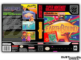 100 Spikes Game Zone Truck Mania Earthbound SNES Super Nintendo Case Box Cover Brand New Pro