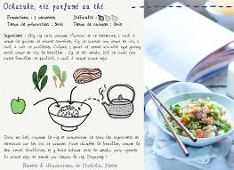 les recettes de la cuisine ochazuke recette cuisine en bandoulière