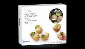 cuisiner les escargots de bourgogne 50 escargots moyens surgelés les entrées tartes et salades picard