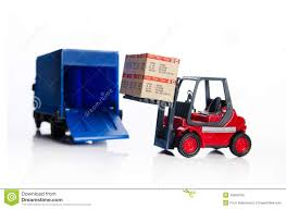 100 Toy Forklift Truck S With Boxes Stock Illustration Illustration Of