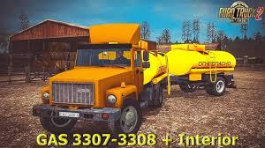 100 Correct Truck And Trailer GAZ 33073308 Interior Update Fix V40 Mod For Euro