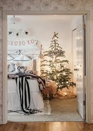 Grandin Road White Christmas Tree by Girls Christmas Bedroom Makeover U2014 House Of Five
