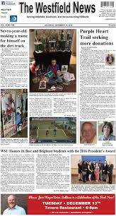 Saturday, December 10, 2016 By The Westfield News - Issuu