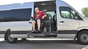 Mercedes Benz Sprinter Wheelchair Accessible Van Youtube Rental Maxresde Wheel Chair Medium
