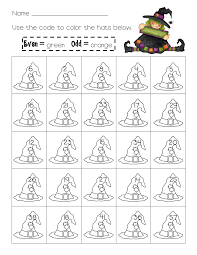Halloween Multiplication Worksheets Grade 4 by Halloween Evens And Odds Worksheet Pinterest