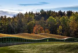 100 Centerbrook Architects Ingenious Power Plant Design Exhibiting A Green Undulating Profile