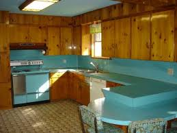 Mid Century Modern Oo Vintage Time Capsule Turquoise Kitchen In Austin Texas
