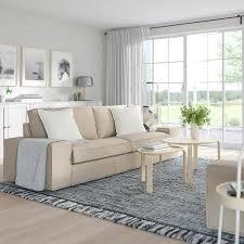 kivik 3er sofa hillared beige