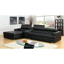 Poundex Bobkona Atlantic Sectional Sofa by Furniture Of America Milton 2 Piece Sectional Sofa With Optional