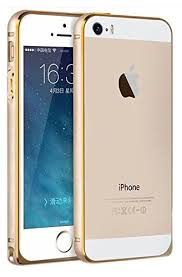 Apple iPhone 5 5s Gold Bumper Edges CELLBELL