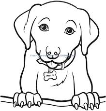 Coloring Pages For Girls Animals Christmas Dog