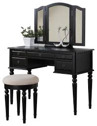 Makeup Vanity Table With Lights And Mirror by Bedroom And Makeup Vanities Houzz