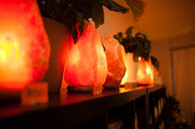 Himalayan Salt Lamp Nz by Himalayan Salt Lamp Aloha Bay Himalayan Salt Lamp And Plants