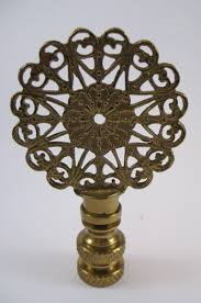 Vintage Brass Lamp Finials by Lamp Finials To Fit Any Decorating Style