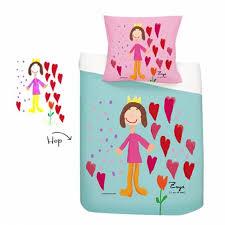 parure de lit personnalisée avec dessin d enfant