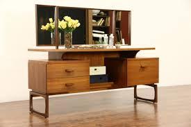 Birdseye Maple Vanity Dresser by Sold Mid Century Modern 1960 U0027s Vintage Teak Vanity Dressing