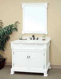 bellaterra home 205042 awhite bathroom vanity antique sink