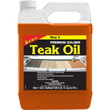 Star Brite 1 Gal. Premium Teak Oil-085100 - The Home Depot
