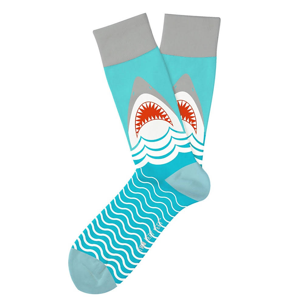 Two Left Feet - Great White Socks (Small)