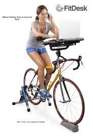 Surfshelf Treadmill Desk Canada by Fitdesk Pro Universal Mounted Bike Desk Black 32 Millimeter