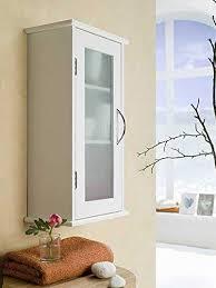 badezimmerschrank 52cm glastür hängeschrank badregal ovp