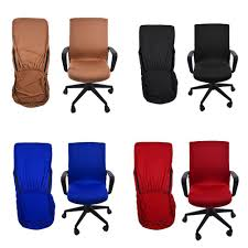 Details About Office Chair Cover Armchair Protector Executive Slipcover  Back Seat Cover Leather Office Chair Cover Beandsonsco View Photos Of Executive Office Chair Slipcovers Showing 15 Melaluxe Cover Universal Stretch Desk Computer Size L Saan Bibili Help Gloves Shihualinetm Cloth Pads Removable Gallery 12 20 Size Washable Arm Slipcover Rotating Lift Covers Chairs Without Arms Ikea Ding Room Slipcover Eleoption Seat High Back Large For Swivel Boss Lms C Best With Lumbar Support Small