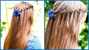 How To WATERFALL BRAID For Beginners DIY Step By Tutorial