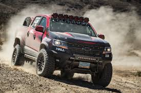 100 Chevy Truck Performance ZR2 Takes To The Desert With Hall Racing