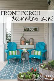 Screened In Porch Decorating Ideas And Photos by Front Porch Decorating Ideas With The Perfect Adirondack Chairs