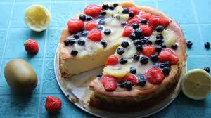 käse obst torte