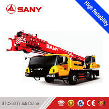 Sany Stc250h 25 Ton Truck Crane With Double-axle Drive 100% New Sany ...