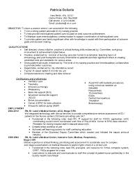 Travel Rn Resume Examples Inspirational Icu Sample Weoinnovate