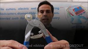 Wheeled Glass Tile Nippers by Live Demo Patented Wheeled Nibbler Item 55w For Mosaic Artist And