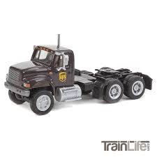 HO Scale: International® 4900 Dual-Axle Semi Tractor - UPS - Modern ...