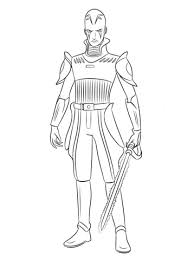 Click To See Printable Version Of Star Wars Rebels The Inquisitor Coloring Page