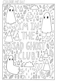 The Best Club Print Me Out And Colour In 3 ColouringColoring Books MindfulGhosts