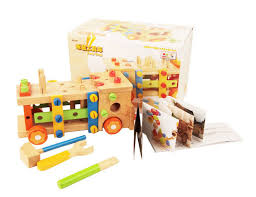 make educational kids diy wood car wooden toy trucks toy assembly