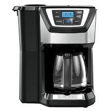 BLACK DECKER 12 Cup Mill And Brew Coffeemaker Black CM5000B