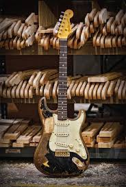 Fender Stratocaster John Mayer The Black One Relic